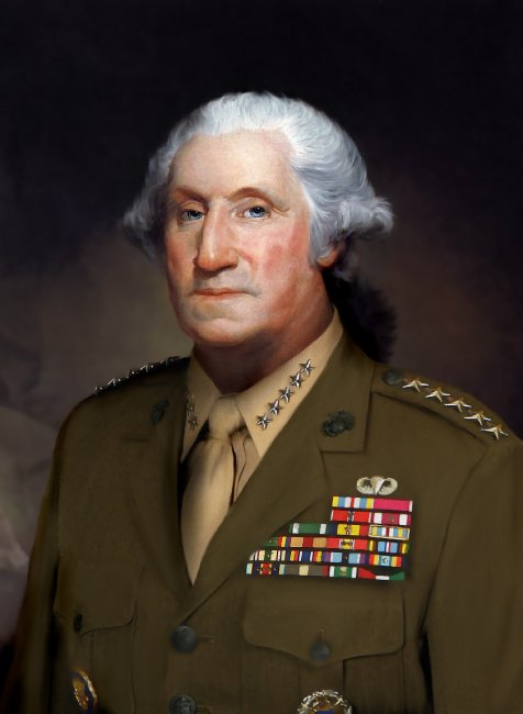 the leadership of general george washington Constitutional rights foundation bill of rights in action fall 1984 / vol i, no 1 leadership / us history what made george washington a great leader we cannot, sir, do without you.